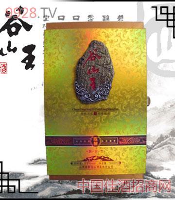 谷山王陈酿尊品盒酒