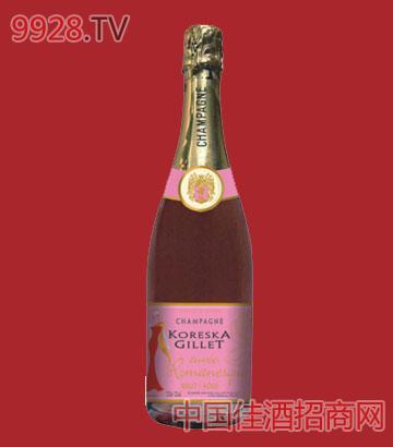 玫瑰香槟酒