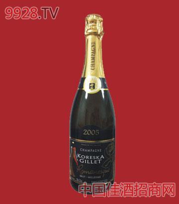 基洛2005年份香槟酒