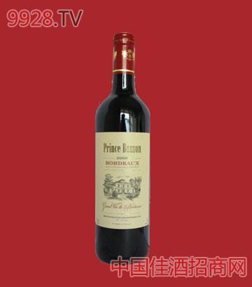 伯森王子AOC干红葡萄酒