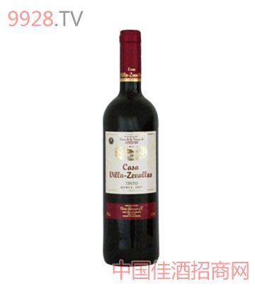 碧雅泽城堡陈酿干红葡萄酒(红标)
