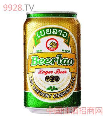 Beerlao黄啤酒