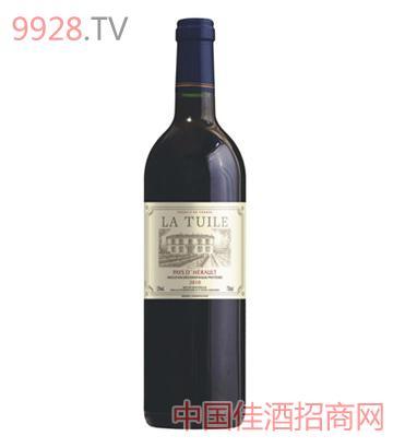 拉图领驭美乐红葡萄酒(法国原瓶进口酒)
