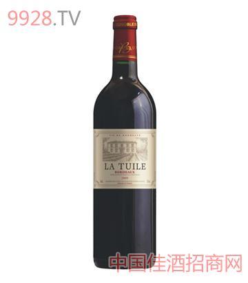 拉图领驭波尔多红葡萄酒(法国原瓶进口酒)