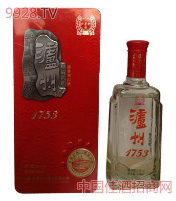 饭盒泸州1753酒