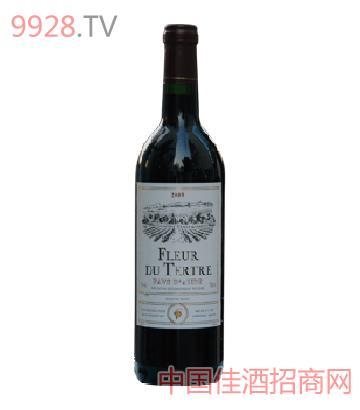 花海红葡萄酒