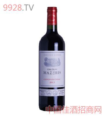 玛泽利城堡红葡萄酒