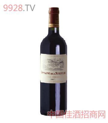 骑士庄园忘忧堡红葡萄酒