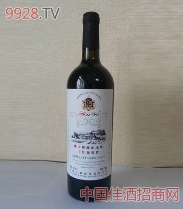 橡木陈酿蛇龙珠干红葡萄酒