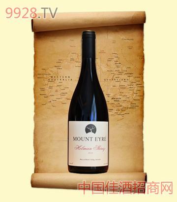 澳洲霍尔曼切拉子红葡萄酒