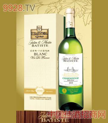 巴蒂斯霞多丽干白葡萄酒
