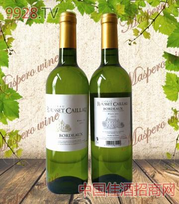 卡莱城堡波尔多干白葡萄酒