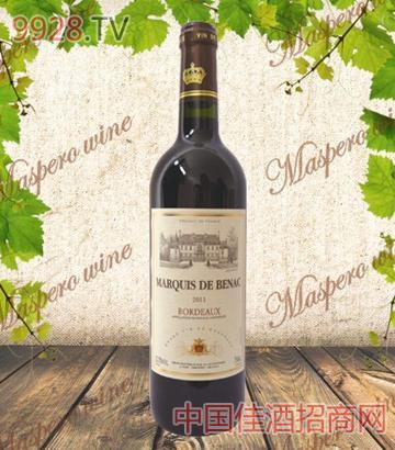 博雅侯爵波尔多干红葡萄酒