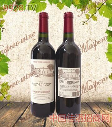 奥比侬酒庄干红葡萄酒