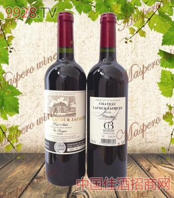 拉古雅克城堡干红葡萄酒