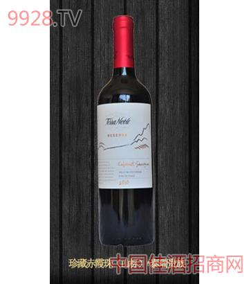 泰瑞珍藏系列赤霞珠干红葡萄酒