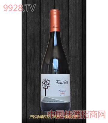 泰瑞酒庄产区珍藏系列西拉干红葡萄酒