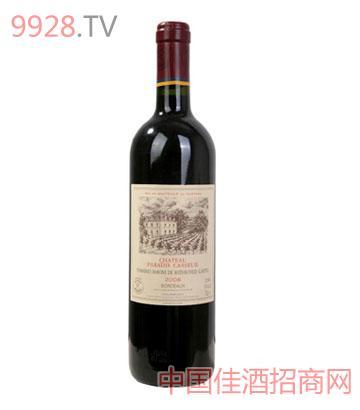 拉菲卡瑟天堂古堡红葡萄酒