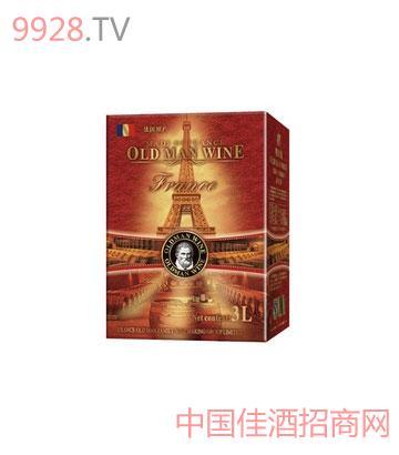 奥德曼酒庄系列赤霞珠干红3L利乐包葡萄酒