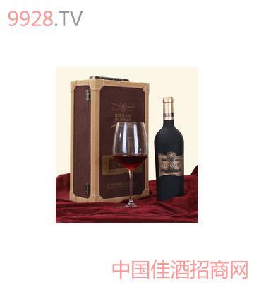 热销推荐奥德曼皇典天香有机粒选干红葡萄酒