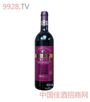 二维码葡萄酒-奥德曼蛇龙珠干红葡萄酒