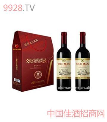奥德曼酒庄精装干红葡萄酒礼盒