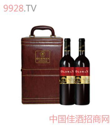奥德曼酒庄2003双支大礼盒干红葡萄酒