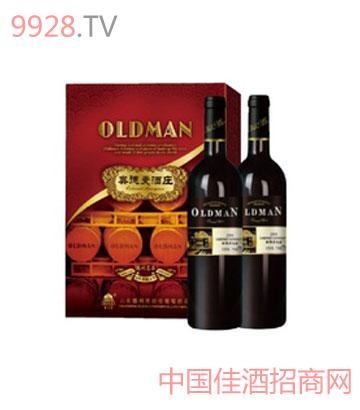 奥德曼酒庄系列2008双支大礼盒