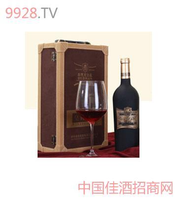 奥德曼皇典天香有机粒选干红葡萄酒