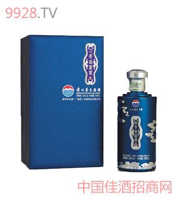 53度500ML茅台集团冬虫夏草酒蓝钻
