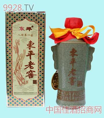 东平老窖青瓷瓶酒