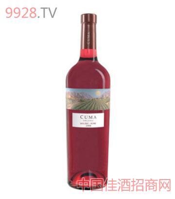 庫瑪有機馬爾貝克桃紅葡萄酒