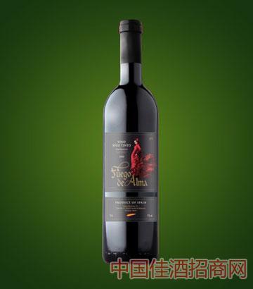 火灵魂干红葡萄酒