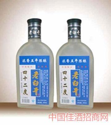 42°扁磨砂五年陈酿(浓香)酒