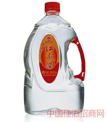 52泸州红高粱酒