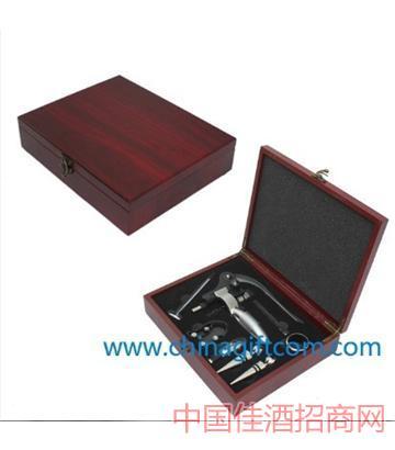 北京高�n仿�t木酒具�Y盒