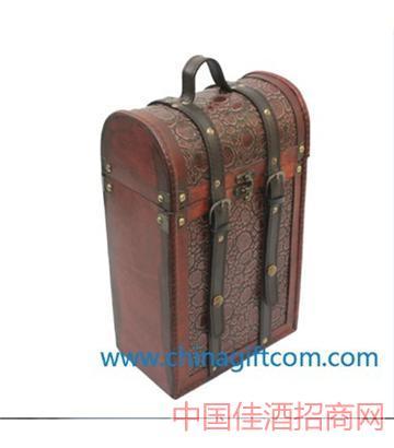 北京仿古�p只�b酒盒