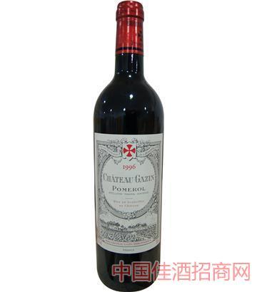 嘉仙庄园干红葡萄酒 1996