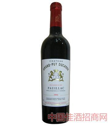 都卡斯庄园干红葡萄酒 2006