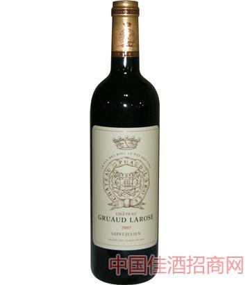 金玫瑰庄园干红葡萄酒 2007