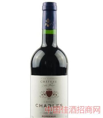 查尔斯庄园干红葡萄酒