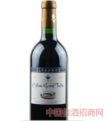 图亚克城堡干红葡萄酒