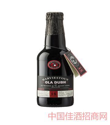海威斯顿奥拉18年陈酿黑啤酒