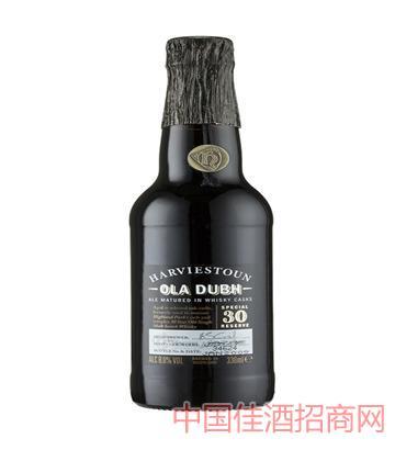 海威斯顿奥拉30年陈酿黑啤酒