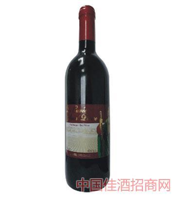 西班牙圣彼得干红葡萄酒
