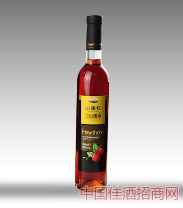 桓��湖山里�t山楂酒