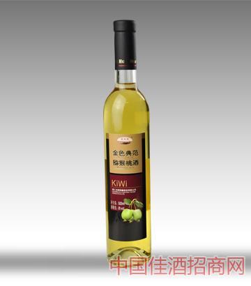 桓��湖金色典范�J猴桃酒