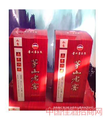 茅山老窖(红盒)酒