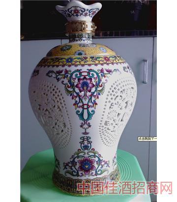 镂空梅花(5斤)酒