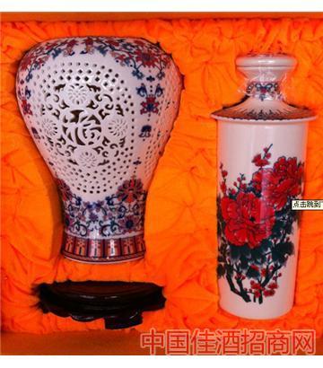 楼空花(红色,2斤)酒